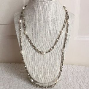 Vintage Monet Pearls Necklace